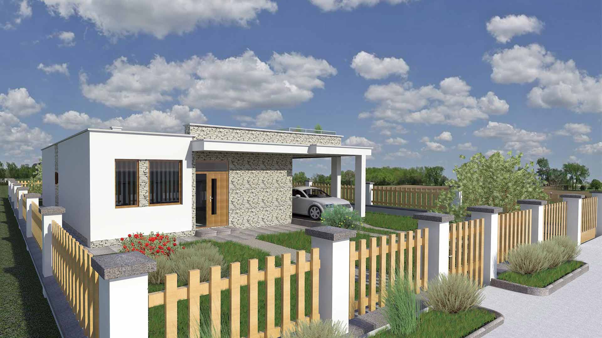 bungalow house